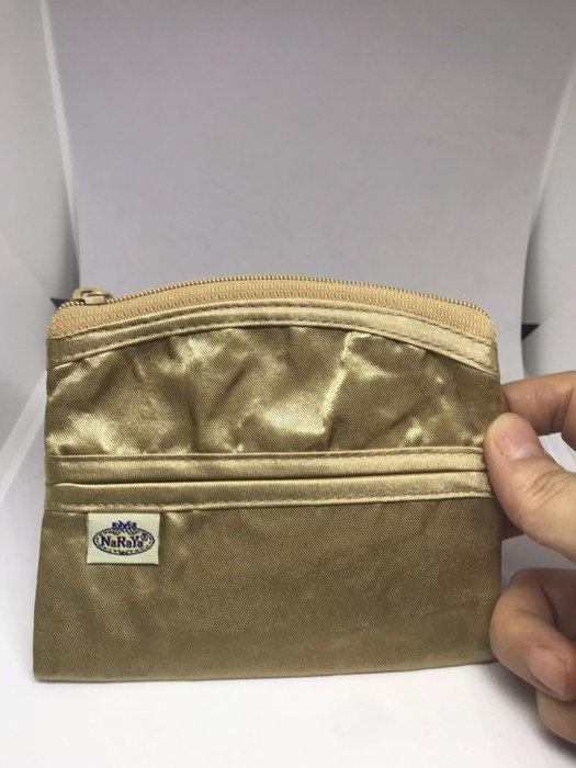 [晶藝坊]泰國曼谷包NaRaYa面紙包+零錢包(金色)