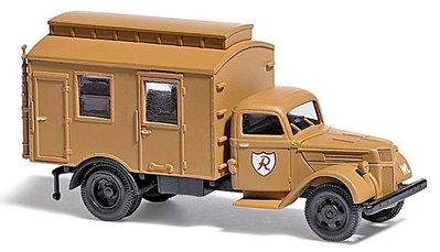 傑仲 (有發票) 博蘭 BUSCH 軍事模型車 Ford V8 G198 TWA 80023 HO