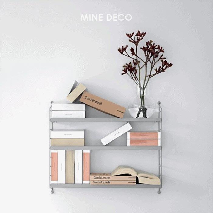 【MINE DECO】北歐壁掛牆面置物架/層板架/壁架/收納架/一字架/隔板/書架/收納(現貨)M0614