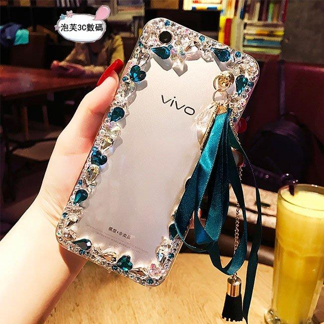 《泡芙》 S6 S7 S8 Plus Note8 C9 Pro手機殼 水鑽流蘇 全包透明殼 剔透殼 蕾絲綁帶 小清新殼