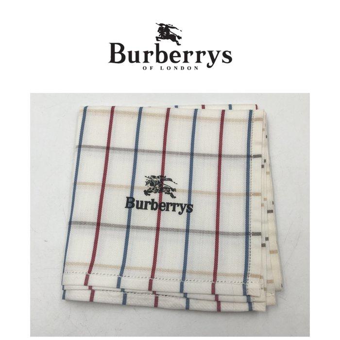 【皮老闆二店】二手真品 Burberry 手帕 手33