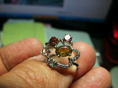 **結緣水晶**超優質,清透漂亮,天然碧璽戒指,款式都不一樣,喜歡的參考看看,全館特賣免運費唷(30)