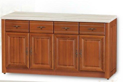 大高雄冠均二手貨家具(全省收購)---【全新香樟】4門  石面餐櫃     收納櫃       置物櫃     便宜出售