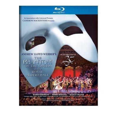 正版全新BD~音樂劇 歌劇魅影(舞台劇/英文字幕)The Phantom of the Opera