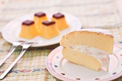 【五月可朵烘培坊】香草卡士達布蕾波士頓派/巧克力卡士達布蕾波士頓派
