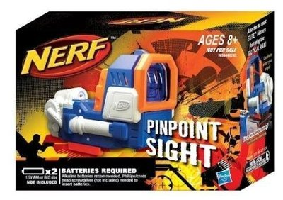 絕版 Nerf Pinpoint Sight 紅點瞄準器 內紅點 龍蝦可用 ( 海綿子彈 水彈槍 )GOBID