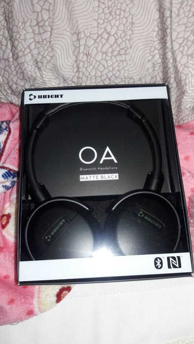 {藤井小鋪}台灣設計製造耀聲Bright OA 藍芽立體聲耳機全新未差黑色