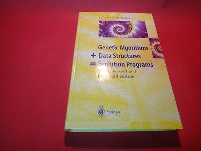 【愛悅二手書坊 10-18】Genetic Algorithms + Data Structures