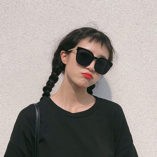 2019新款墨鏡女ins韓版潮人網紅個性圓臉街拍大框複古文藝太陽鏡