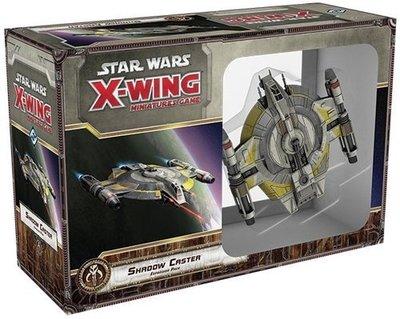 大安殿實體店面 Star Wars X-Wing Shadow Caster (SWX56) 正版益智桌上遊戲