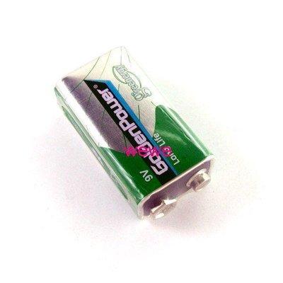 沙鹿批發 9V 乾電池6F22 無線麥克風/ 監視器/ 遙控玩具電子樂器/ 煙霧偵測器/ 三用電表勾錶皆可 非1.5V充電鋰電...