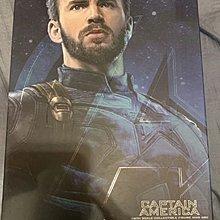 1/6 Hottoys MMS480 Avengers 3 Captain America 復仇者聯盟 3 美國隊長  普通版 二手新淨