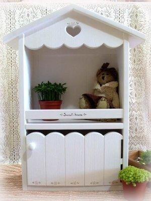 松木 實木 壁櫃 收納櫃 置物櫃**樂在幸福**木作坊 ~A20~松木收納櫃~房屋造型~(特價)