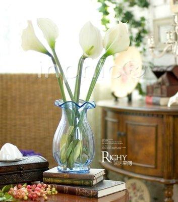 INPHIC-愛琳塔 清新現代 手感馬蹄蓮客廳玄關臥室 餐桌插花花藝套裝