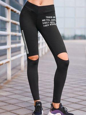 運動褲健身褲女彈力緊身蜜桃褲外穿瑜伽褲壓縮速乾褲--崴崴安