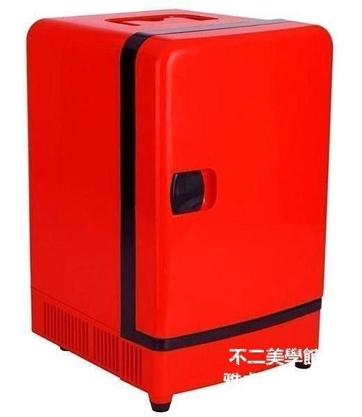 【格倫雅】^科敏16L立式迷你車載冰箱 家用小冰箱 車家兩用冷藏箱 冷暖箱 學生496