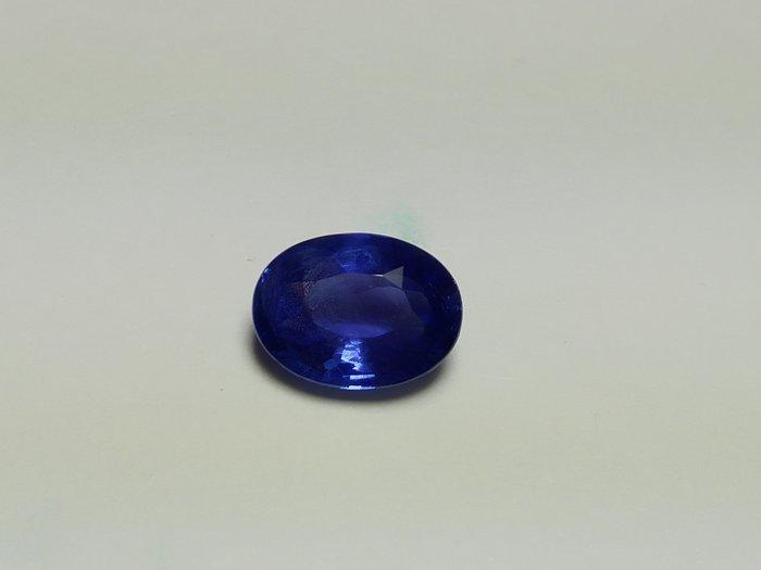收藏級3.01克拉無燒矢車菊藍藍寶石含國際證 [藍寶迷的家]