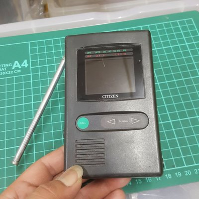 CITIZEN 小電視機 復古 收藏 通通便宜賣 N箱 非 天珠 銅件 單眼 類單眼 CANON SONY