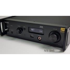 愛樂音響 台中市政店  日本 TEAC NT-505 USB DAC / 網路串流播放器 / Spotify / 藍芽