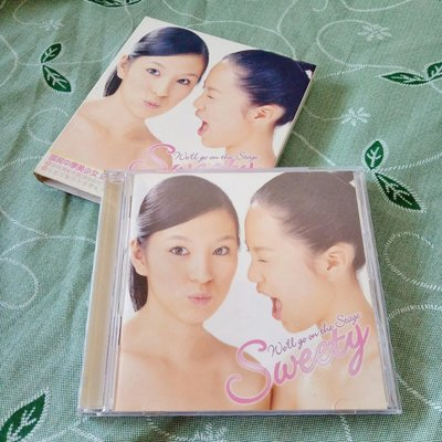 有魚音樂 Sweety 首張專輯 We'll Go On The Stage 絕版二手CD