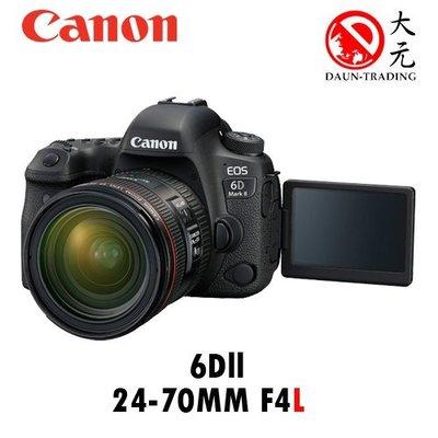 *大元 台南*【限時降價】CANON EOS 6D2+24-70mm F4L USM 公司貨 6D 台南市