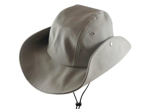 【二鹿帽飾】夏季登山客專用帽 / 特大款(XL).布牛仔帽/ 男女款式-灰 /MIT☆ 登山專用帽