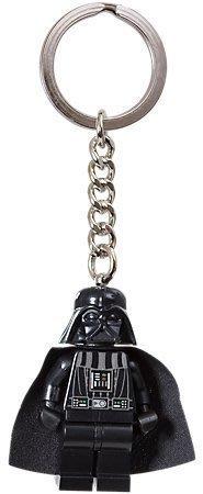【LEGO 樂高】美國官網正品 積木 鑰匙圈 人偶 吊飾/星際大戰Star wars: 黑武士 Darth Vader
