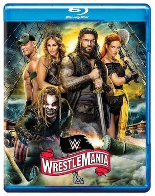 ☆阿Su倉庫☆WWE摔角 WrestleMania 36 Blu-ray WM36摔角狂熱精選專輯藍光版 現貨熱賣特價中