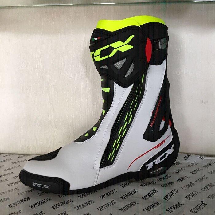 台中大里~moto2 輪館~TCX-RT-RACE 7655你有買不到高級款賽車靴的苦腦嗎⋯⋯請看過來!巨人的鞋子49號