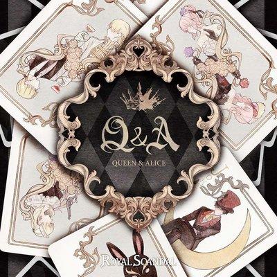 特價預購 Royal Scandal luz 奏音Q&A-Queen and Alice (日版Jack盤CD+DVD)