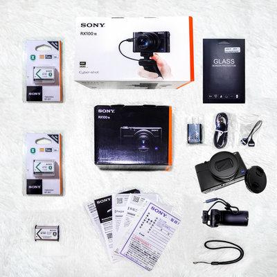 【極新保固內】Sony RX100 M7G公司貨+VCT-SGR1手把+冷靴支架+3顆原廠電池-RX100M7G