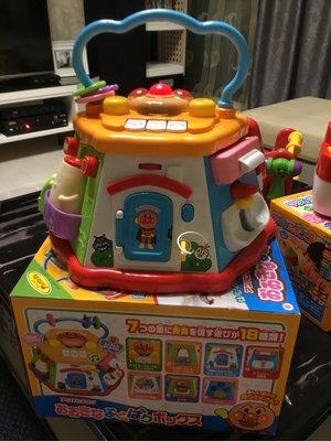 【BABY House高雄旗艦店】日本 麵包超人 Anpanman 7面音樂聲光益智玩具