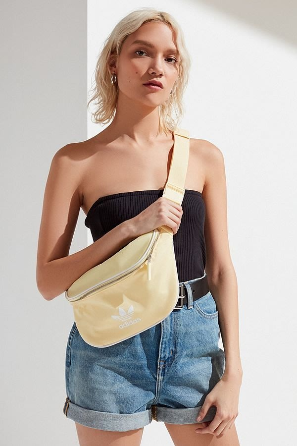 代購 adidas Originals Belt Bag 黃色 腰包