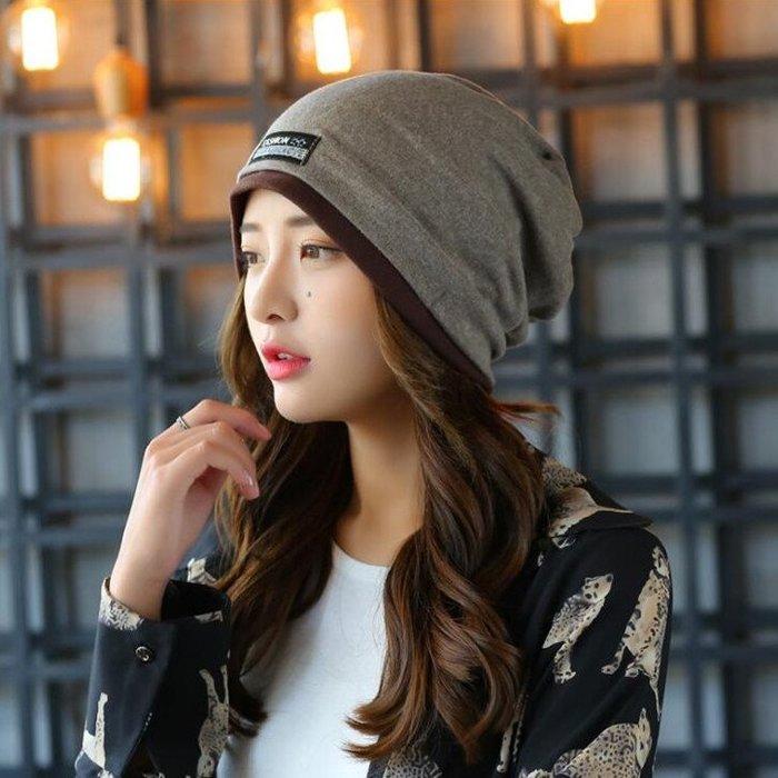 月子帽 新款秋季棉月子帽冬秋冬款春秋孕婦產婦堆堆套頭帽子透氣頭巾女帽