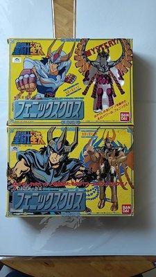 聖鬥士星矢-日版 聖衣大系 初代鳳凰座 窗版及普版 空盒