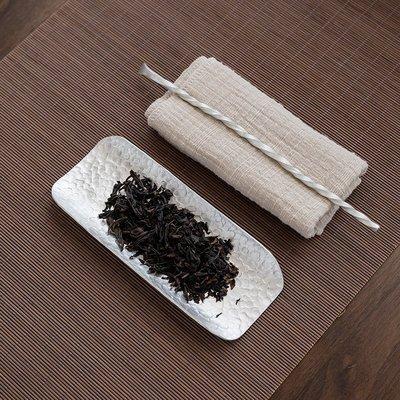 中式茶具 配件工具 純手工純錫茶則賞茶荷茶勺茶匙茶道六君子功夫茶道配件純銅分茶器