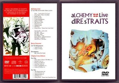 音樂居士#恐怖海峽 Dire Straits Alchemy Live (/dts) DVD
