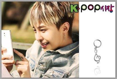 韓國높은음자리耳飾 正韓進口ASMAMA官方正品 BIGBANG GD 權志龍 同款音符旋律造型圓環耳環 (單支價)