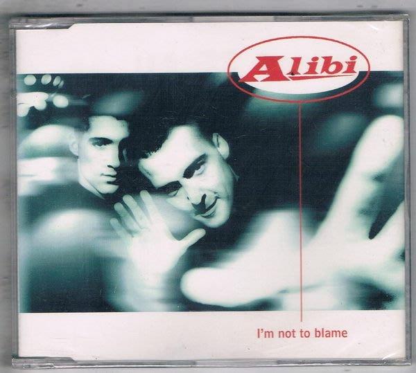 [鑫隆音樂]西洋單曲-ALIBI : Im not to blame {74321434762}全新/免競標