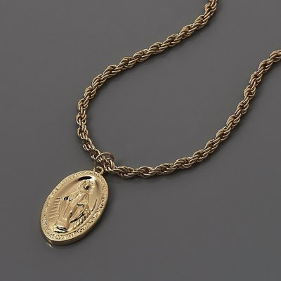SOLO Immaculate Conception Necklace 天主教聖母項鍊 金色 藤原本舖