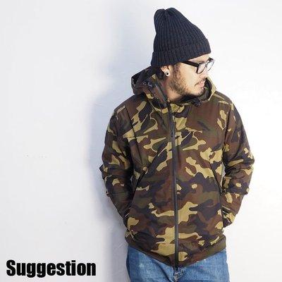 Suggestion 防風 防潑水 登山 風衣 迷彩外套 XL 全新免運
