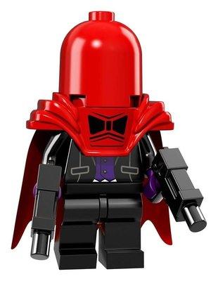 【荳荳小舖】LEGO樂高 樂高人物系列71017樂高人偶包 樂高蝙蝠俠電影#11 紅面罩 頭套 含運250下標即售