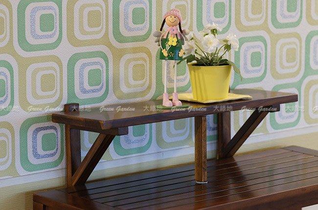 牆掛式 置物架 (81)【大綠地家具】100%印尼柚木實木/花架/層架/DIY手作風