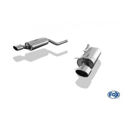 DIP 德國 Fox 排氣管 Audi 奧迪 A6 S6 4B 1.8l 2.5l 2.7l 2.8l 3.0l TDI 尾段 雙邊 單出 橢圓 專用97-04
