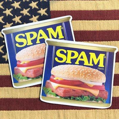 (I LOVE 樂多) 美國經典品牌 SPAM 午餐肉 漢堡 滑鼠墊