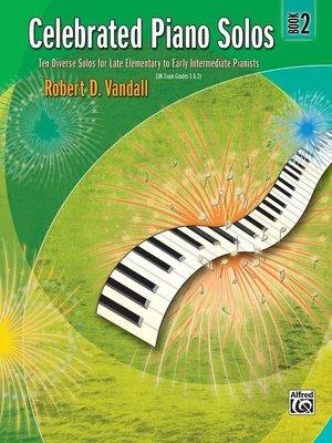 【599免運費】Celebrated Piano Solos, Book 2 Alfred 00-881125