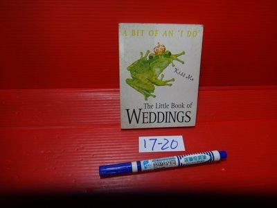 【愛悅二手書坊 17-20】A BIT OF AN I DO  The Little Book of WEDDINGS
