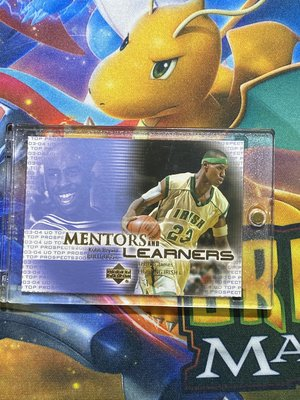 2003 Upper Deck Kobe Bryant Lebron James ROOKIE RC