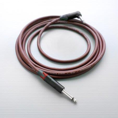☆ 唐尼樂器︵☆美國製 Evidence Audio Forte (4.5米)錄音室級樂器導線(雙直頭/一直頭一L頭)