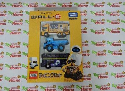 絕版品/迪士尼/瓦力/WALL-E/伊芙/機器人/D-42/盒損~TOMY TOMICA